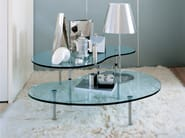 Crystal coffee table AMBO - Zanotta