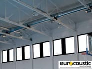 Acoustic rock wool ceiling tiles ACOUSTISPORT® - Saint-Gobain Gyproc