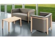 2 seater fabric sofa COLLAR | Fabric sofa - Brunner
