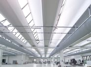 Precast reinforced concrete roof COPERTURA Z-SHED - ZANON PREFABBRICATI