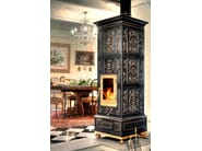 Wood-burning ceramic stove VIENNA | Stove - LA CASTELLAMONTE STUFE