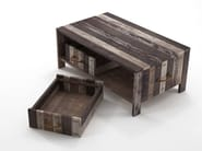 Reclaimed wood Drawer / storage box ROPE ME | Drawer - KARPENTER