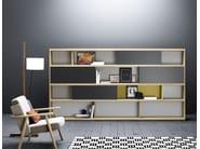 Freestanding wooden bookcase LAU   Bookcase - TREKU