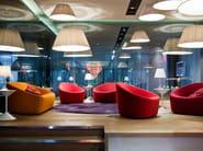 Upholstered expanded polyurethane armchair CLUB 1010 - Zanotta