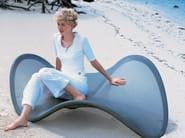 Fabric armchair FLY - Zanotta