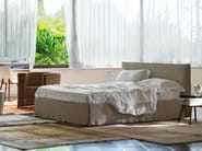Double bed with removable cover TAHITI | Bed with removable cover - Orizzonti Italia