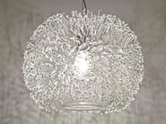 Crystal pendant lamp SEA URCHIN   Pendant lamp - TERZANI