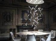 Halogen crystal chandelier ANGEL FALLS - TERZANI