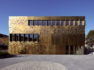 Metal sheet and panel for facade TECU® Brass - KME Architectural Solutions
