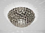 Halogen metal ceiling lamp ORTEN'ZIA | Ceiling lamp - TERZANI