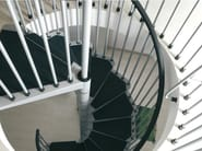 Spiral staircase CIVIK - Fontanot Spa