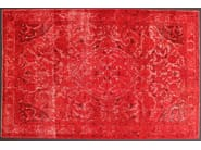 Solid-color handmade rectangular wool rug BROCCATO - Sirecom Tappeti