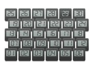 Seat numbering system ZIFRA - Casala