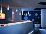 Borosilicate glass pendant lamp AGA SP - Vetreria Vistosi