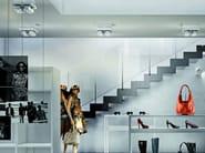 Adjustable aluminium ceiling lamp NOTTA PL 4 - Vetreria Vistosi