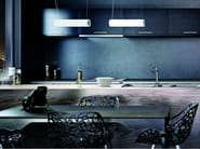 Blown glass pendant lamp OVALE SP - Vetreria Vistosi