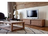 Rectangular teak coffee table TEAK DUPLEX | Rectangular coffee table - Ethnicraft
