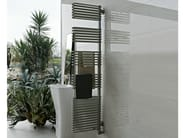 Contemporary style wall-mounted steel towel warmer TOTEM - Tubes Radiatori