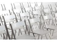 Folding polyethylene training chair POCKET CONFERENCE - AREA DECLIC