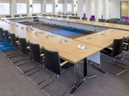 Modular wooden meeting table TEMO | Modular meeting table - Casala