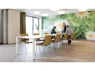 Modular meeting table WISHBONE II - Casala