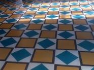 Cement wall tiles / flooring GEO_UN_12 + GEO_UN_18 - enticdesigns