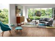 Laminate flooring NATURAL WILD OAK 3-STRIP - Pergo