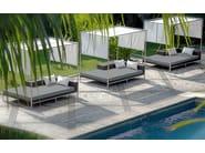 Canopy wicker garden bed JANE | Canopy garden bed - MAMAGREEN