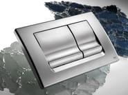 Brushed steel flush plate RIA | Brushed steel flush plate - OLI