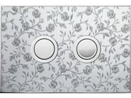 Flush plate FANTASY ROSES POLISHED - Valsir