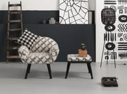Fabric armchair with armrests PICASSIMO - KARE-DESIGN