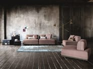 Modular fabric sofa SANDERS | Modular sofa - Ditre Italia