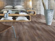 Laminate flooring with wood effect CHALKED COFFEE OAK - Pergo
