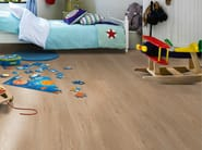Laminate flooring with wood effect CHALKED OAK PLANK - Pergo