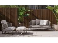 Outdoor armchair ASTON CORD OUTDOOR - Minotti