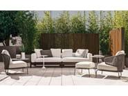 Outdoor sofa ALISON DARK BROWN OUTDOOR - Minotti