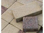 Concrete paving block CORSO® 15x30 - Gruppo Industriale Tegolaia