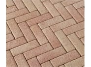 Concrete paving block CORSO® 7x21 - Gruppo Industriale Tegolaia