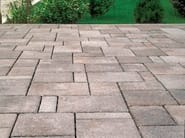 Concrete paving block CORSO® FARNESE - Gruppo Industriale Tegolaia