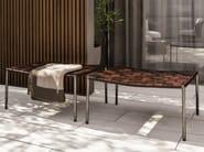 Outdoor bench BENCH - KLASEN OUTDOOR - Minotti