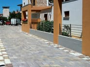 Concrete paving block TRANI - Gruppo Industriale Tegolaia