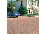 Concrete paving block PAVONE - Gruppo Industriale Tegolaia