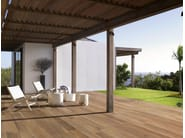 Indoor/outdoor porcelain stoneware flooring with wood effect TRAVEL - Ceramiche Supergres