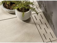 Porcelain stoneware outdoor floor tiles STONETRACK T20 - Ceramiche Supergres