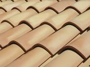 Clay bent roof tile COPPO MEDITERRANEO - Gruppo Industriale Tegolaia