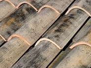 Clay bent roof tile COPPO MEDITERRANEO ANTICATO - Gruppo Industriale Tegolaia