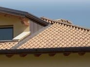Clay bent roof tile COPPO 45 CLASSICO - Gruppo Industriale Tegolaia