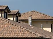 Cement roof tile SUPERCOPPO® ANTICATO - Gruppo Industriale Tegolaia