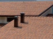 Cement roof tile SUPERCOPPO® CERAMICATO - Gruppo Industriale Tegolaia