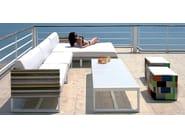 Sunbrella® day bed / garden bed STRIPE | Sunbrella® day bed - MAMAGREEN